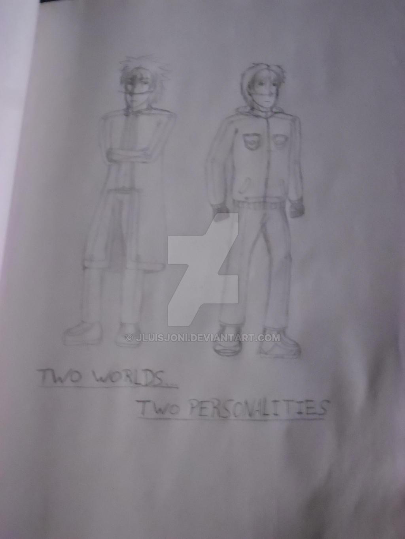 Two Worlds... Two Personalites... by KuraiJinx