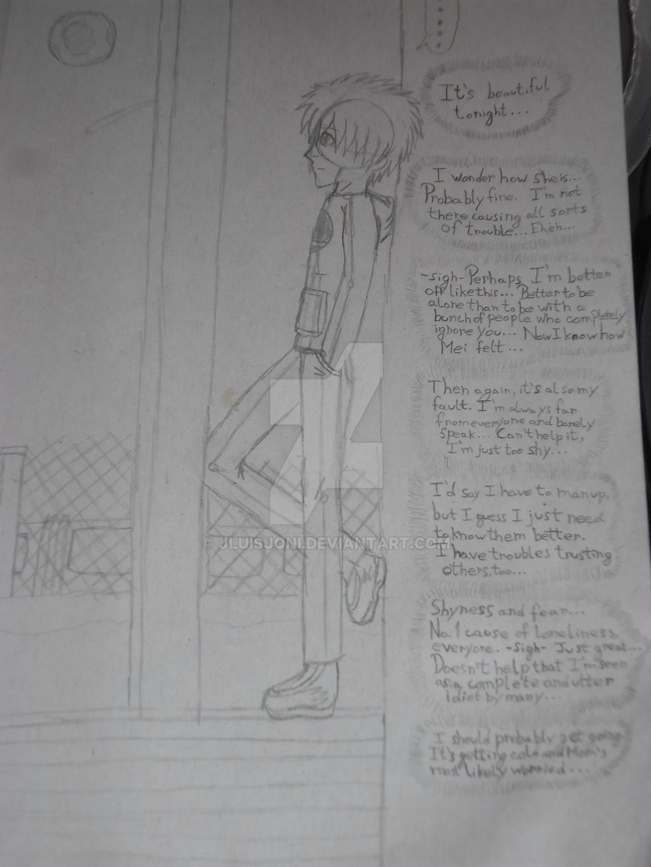 Sneak peek: Keito's thoughts... by KuraiJinx