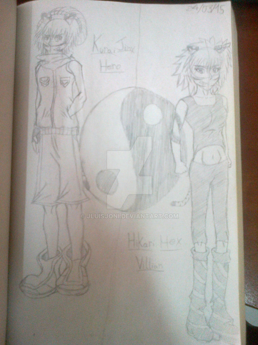 Polar opposites in The World Ends With You by KuraiJinx