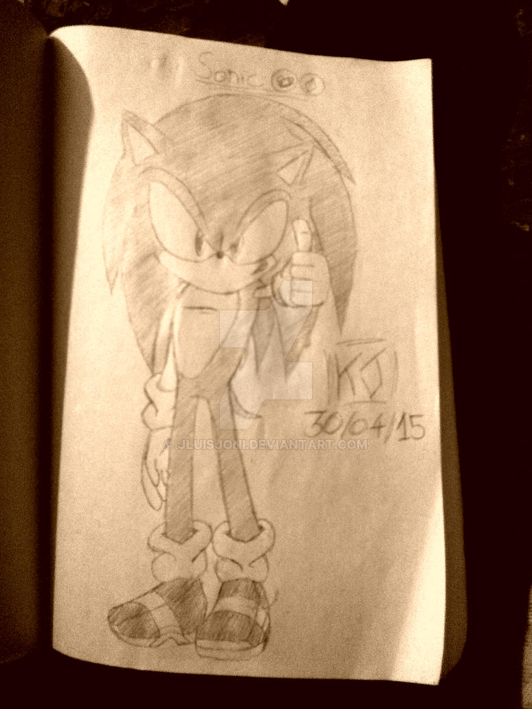 Sonic Rolls Around at the Speed Of Sound(Profile)! by JLuisJoni