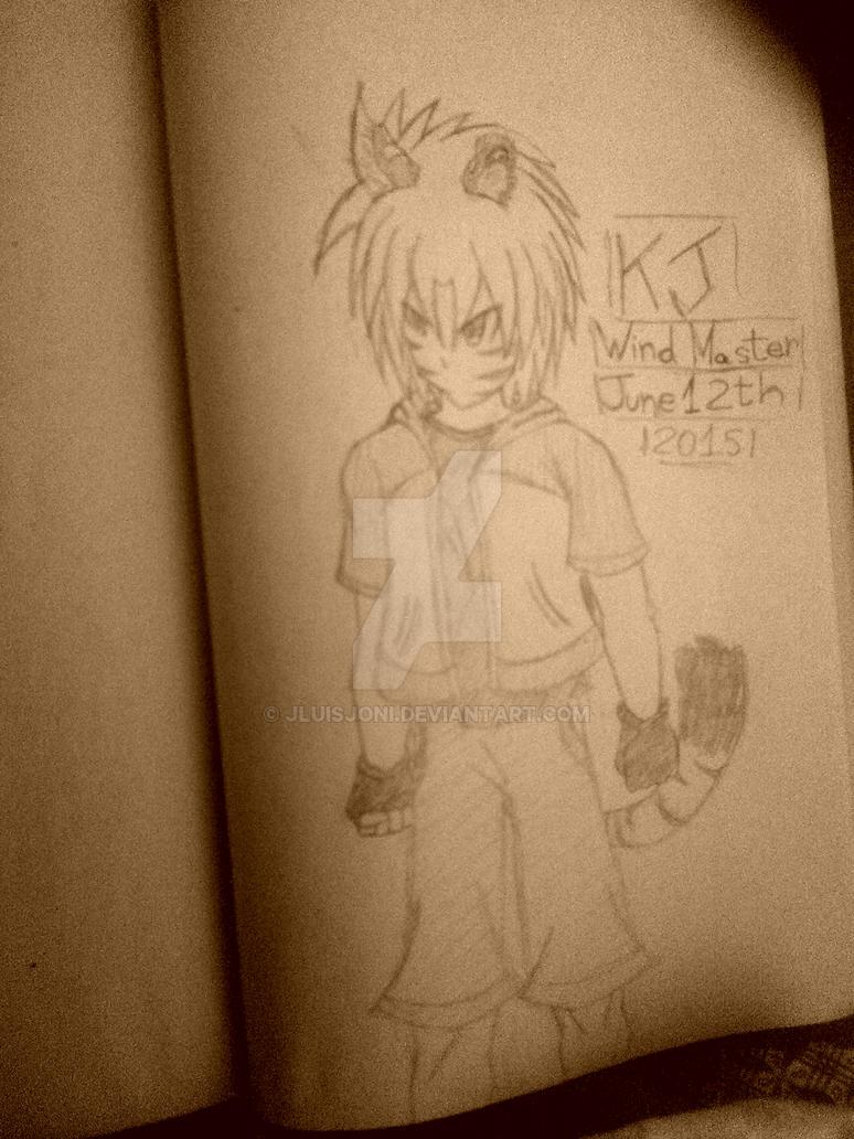 KJ, The Wind Master by KuraiJinx