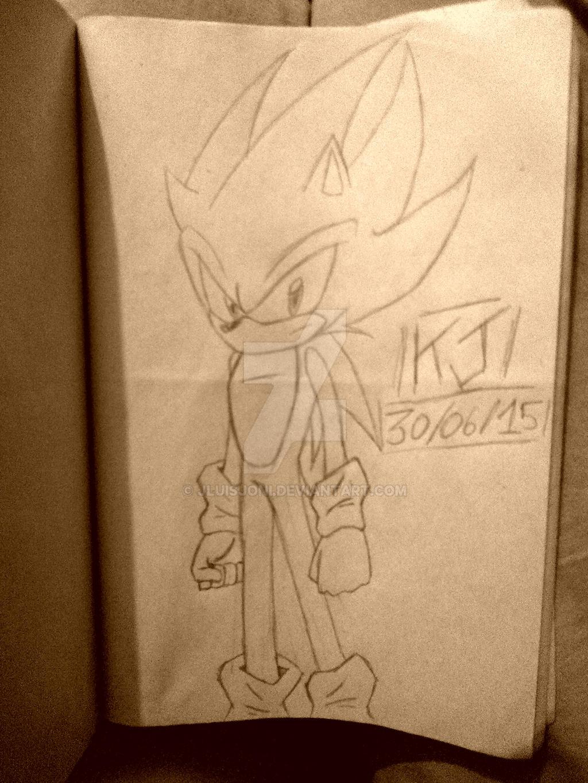 Super Saiyan Hedgehog!! by KuraiJinx