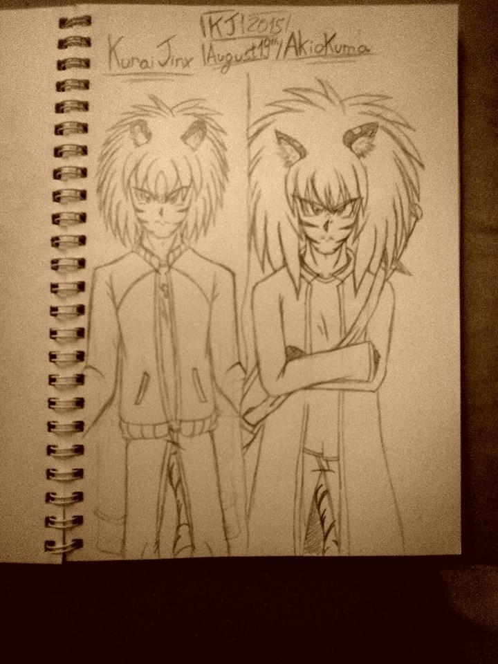 Siblings. by KuraiJinx