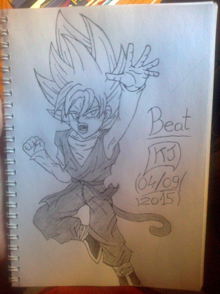 A Dragon Ball Hero. by KuraiJinx