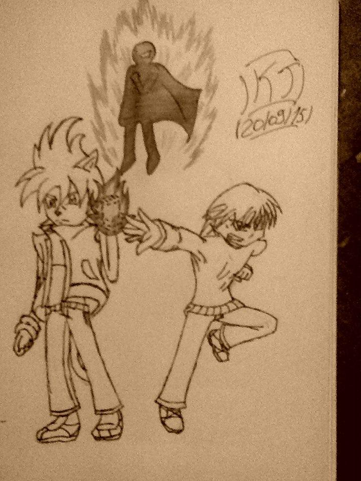 Jinx, Kon and a tease. by KuraiJinx