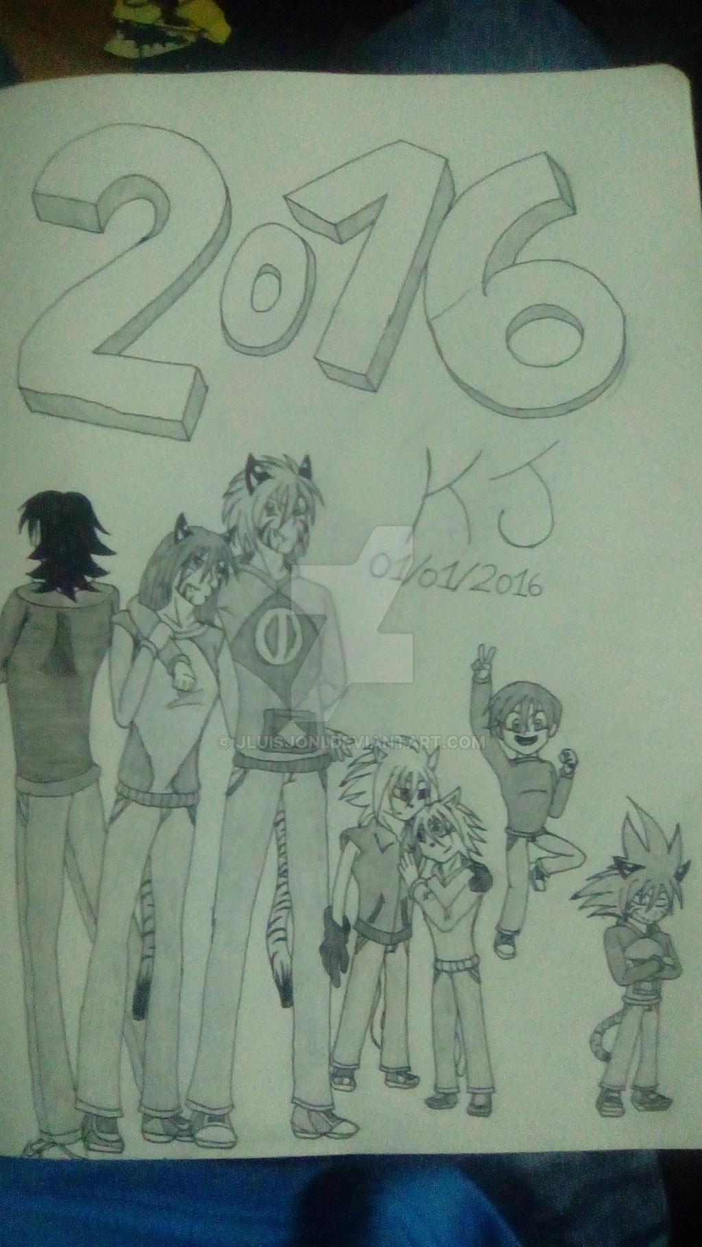 Happy (Late) New Year! by KuraiJinx
