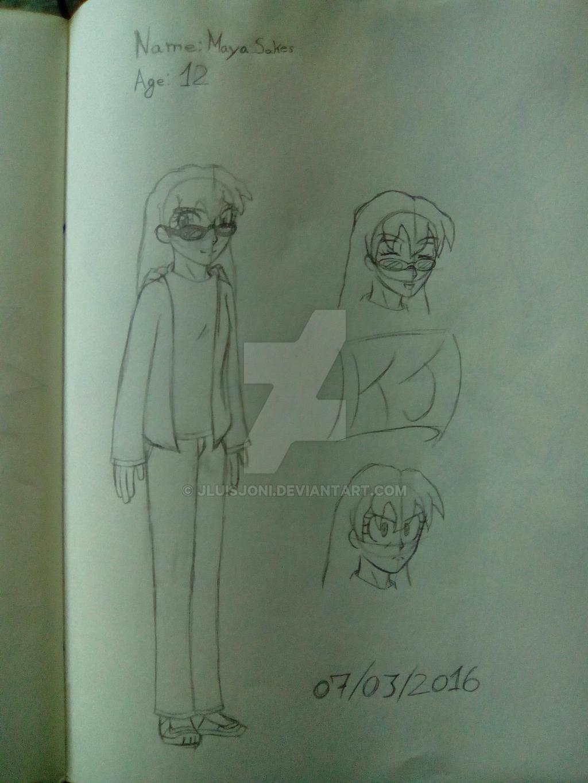 Character references: Maya Sakes by KuraiJinx
