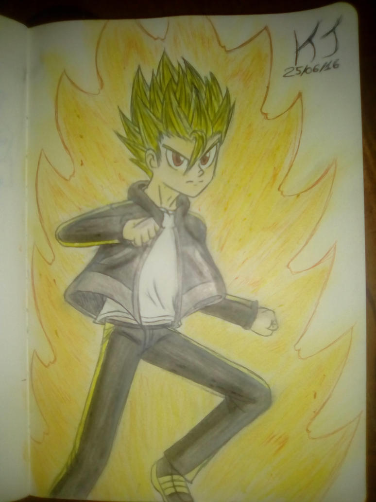 Totally not a Super Saiyan by KuraiJinx