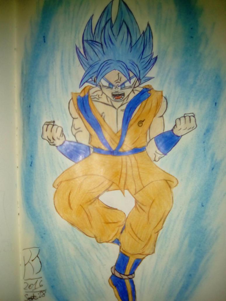 A SUPER Godly Power!! Beyond Saiyan God! by KuraiJinx