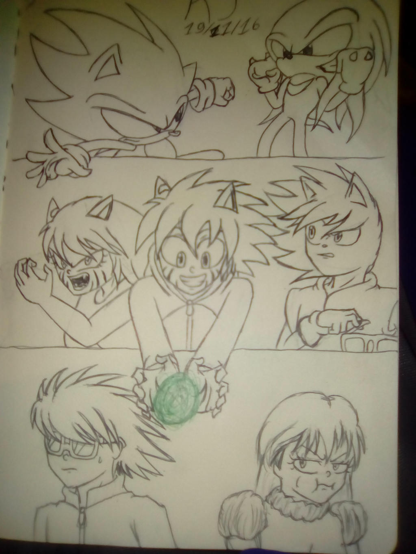 Comic Projects by KuraiJinx