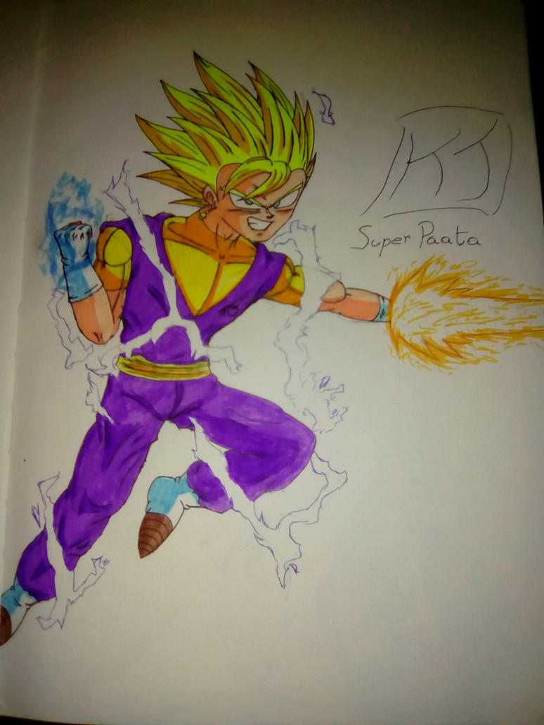 Dragon Ball XenoVerse: Super Paata(MasakoX) by KuraiJinx