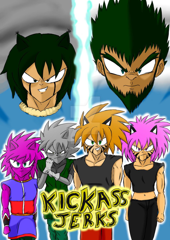 Kickass Jerks - Power Battle Arc - Key Visual by KuraiJinx