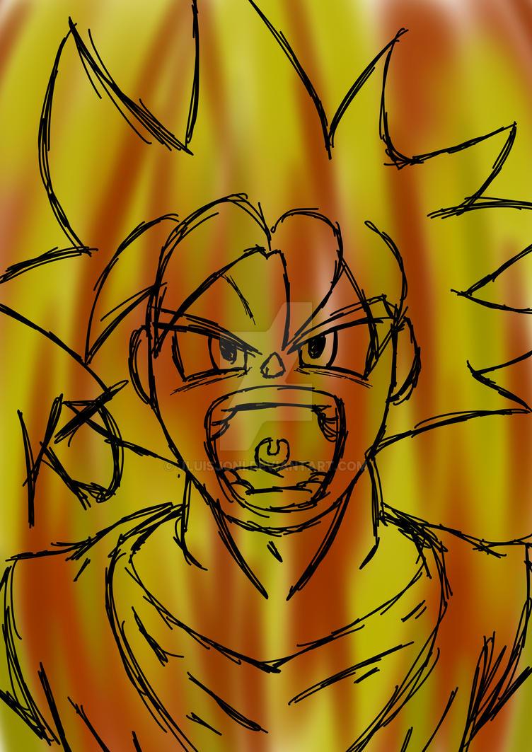The Super Saiyan God by KuraiJinx