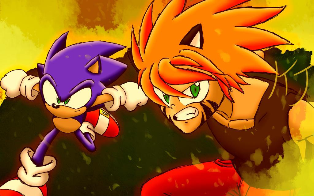 Sonic Forces Inspired Wallpaper by KuraiJinx