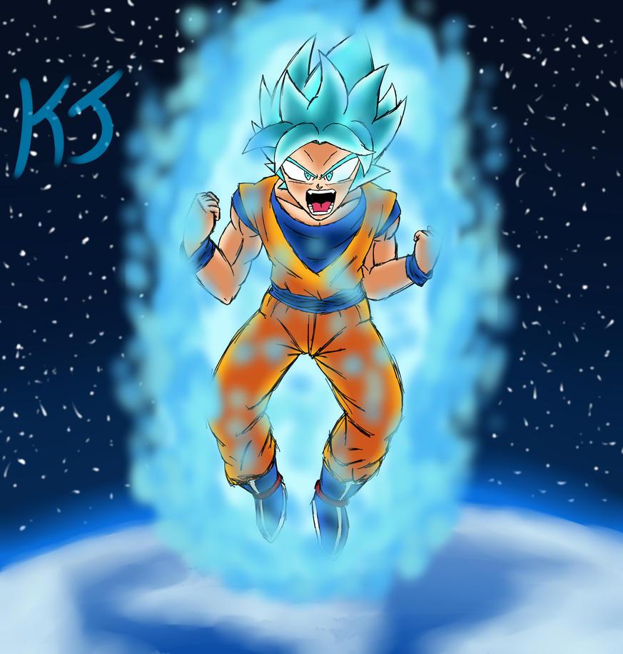 Son Goku Rises by KuraiJinx