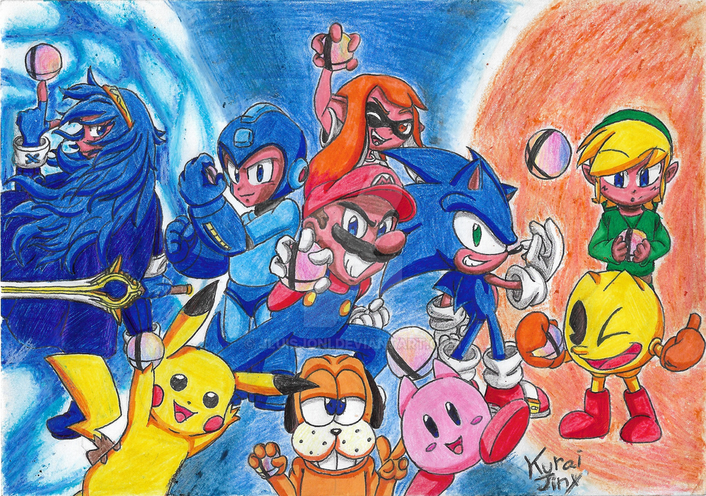 It's Smash Bros. Time!! by KuraiJinx