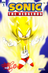 Made Up Sonic The Hedgehog Comic Cover #2 by JLuisJoni
