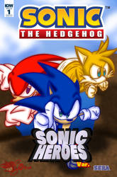 Made Up Sonic The Hedgehog Comic Cover #3 by JLuisJoni