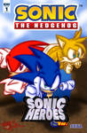 Made Up Sonic The Hedgehog Comic Cover #3