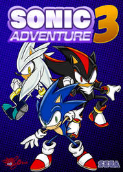 Sonic Adventure 3 - Fake Cover Art by JLuisJoni