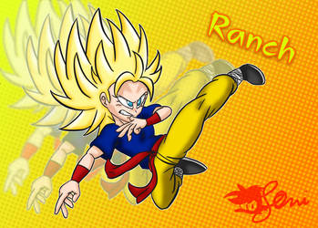 Dragon Ball R and R - Ranch by JLuisJoni