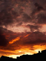 Sunset Over Berlin 94 by ErinM2000