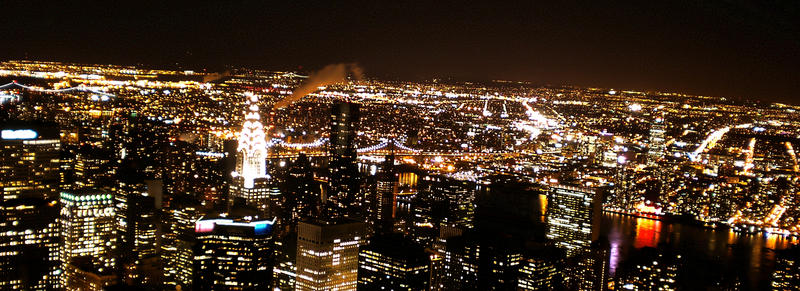 Empire State At Night by ErinM2000
