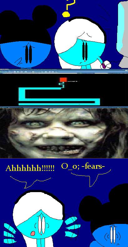 Scary maze game by symphonyb
