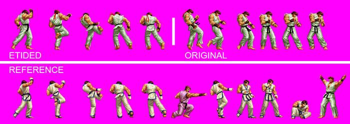 Ryu X Kim--Haki Kyaku-Sprite by Ninja-Ricky