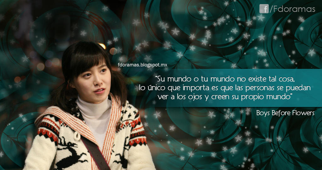 Frases de doramas by fdoramas on deviantart for Cancion de la pelicula el jardin secreto