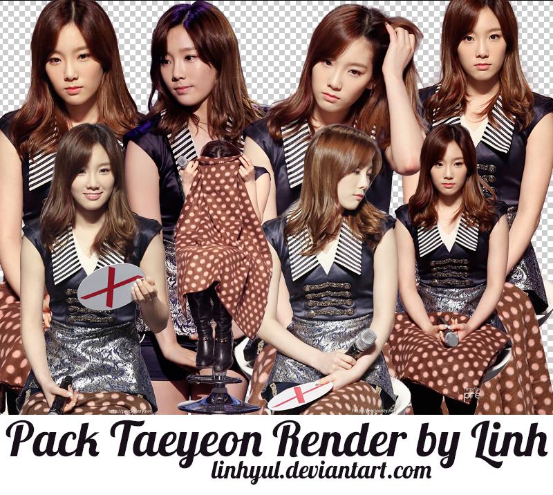 Pack Taeyeon Render by LinhYul