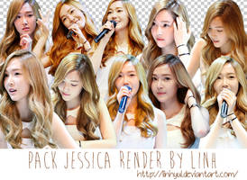 Pack Jessica Render by LinhYul