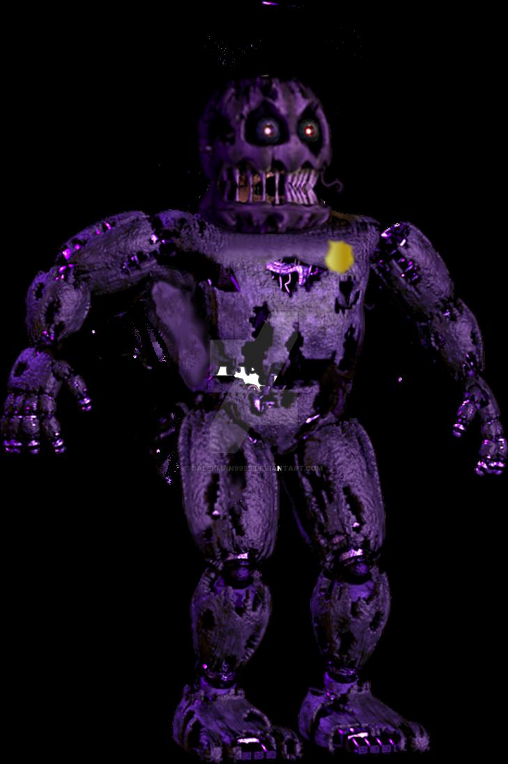 Nightmare Purple Guy By Dalekman9999 On Deviantart