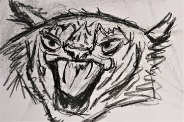Fired Up Tiger by SNTDJF