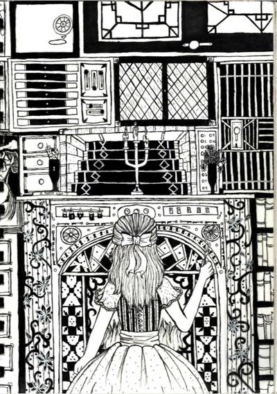 Doors, Locks and Mysteries by Blackswan2714