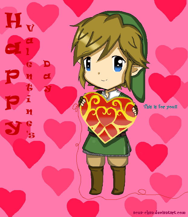 .:Happpy Valentine's day!!:. by acua-chan