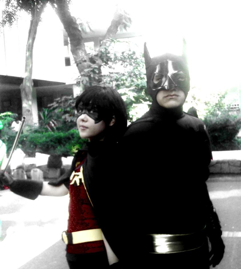 Batman And Robin The Dynamic Team by yukimeyaoi