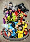 Mortal Kombat ninja's FINISHED