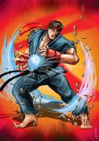 Evil Ryu by Sw-Art