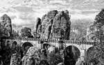 The bridge of Bastei by Doshunk