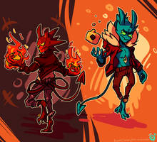 Demons   Ionic-Isaac by Shig-gu