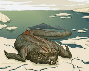 Crocodylus Laptevi by Sorcaron