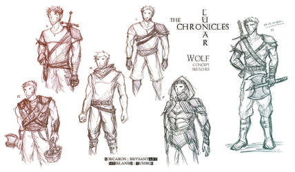 LC - [Wolf] concept sketches