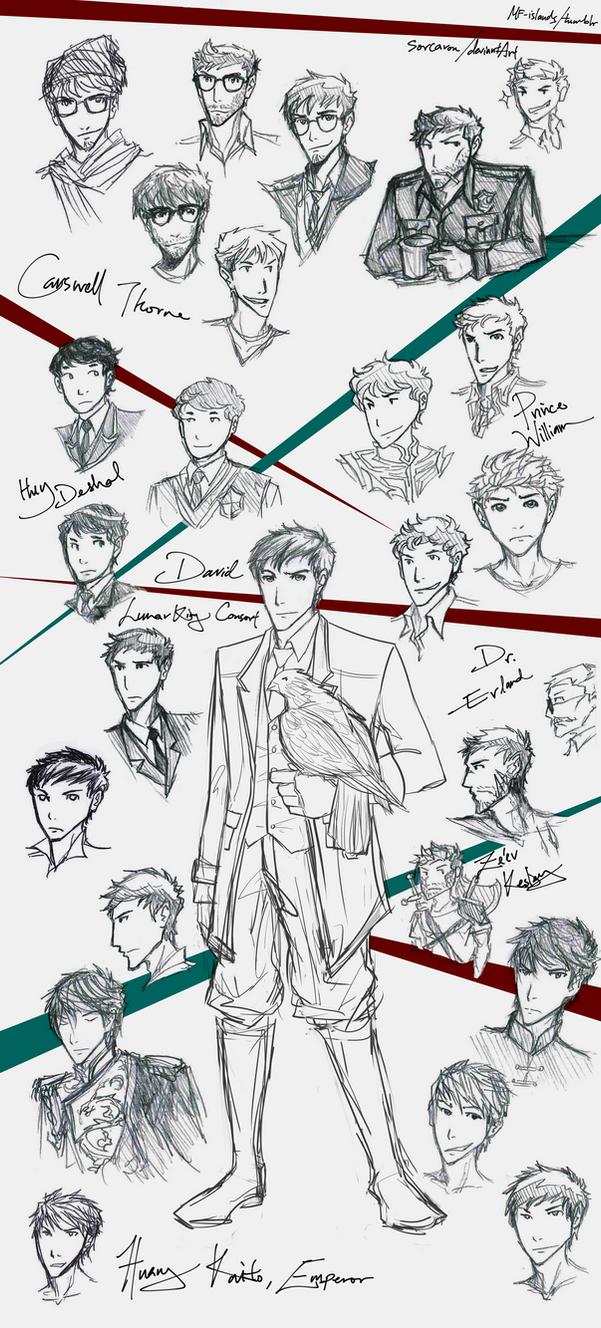 TLC - sketches 05 by Sorcaron