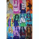 Adventure Time Girls Together