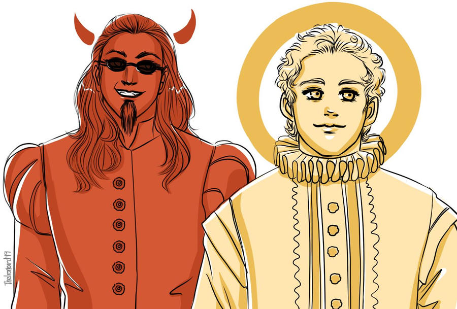 Shakespeare-ish Crowley and Aziraphale