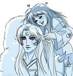 The hair of Sesshomaru-sama by TheIronbirdOfficial