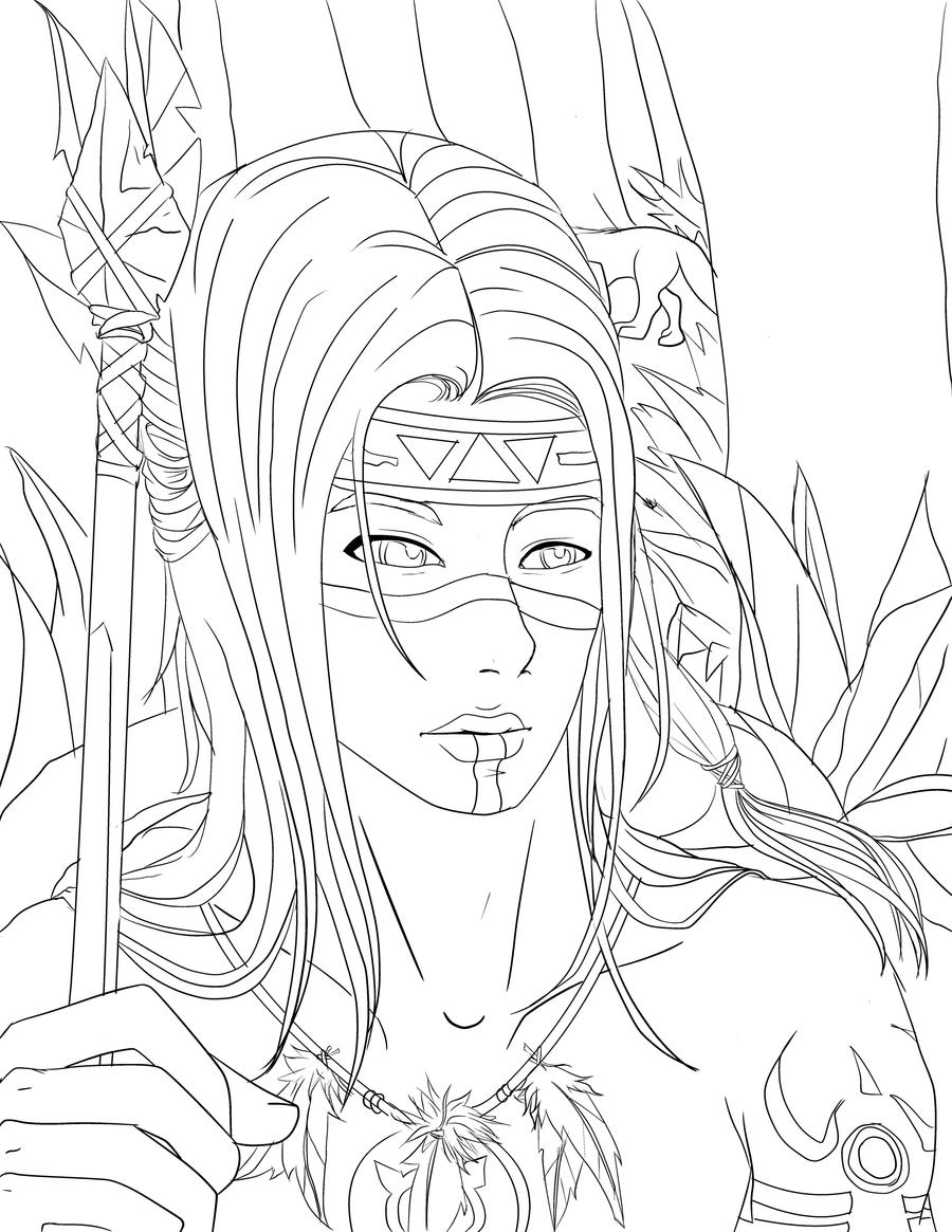 navaho coloring pages - photo#31