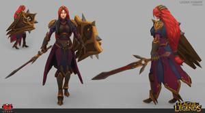Leona classic skin redesign