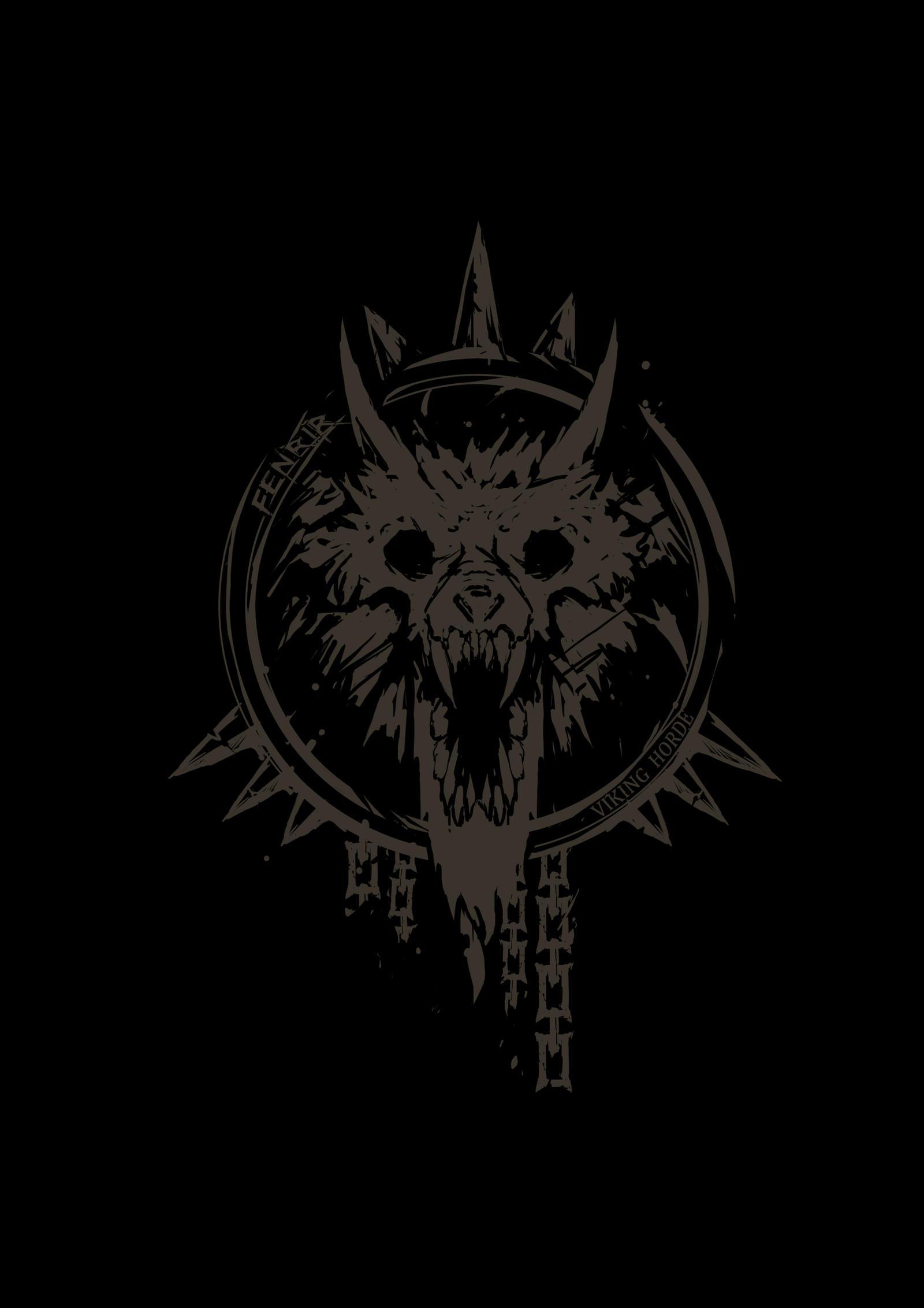 Fenrir wolf symbol - photo#44